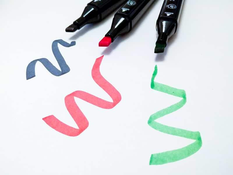 Dicke Stiftspitzen