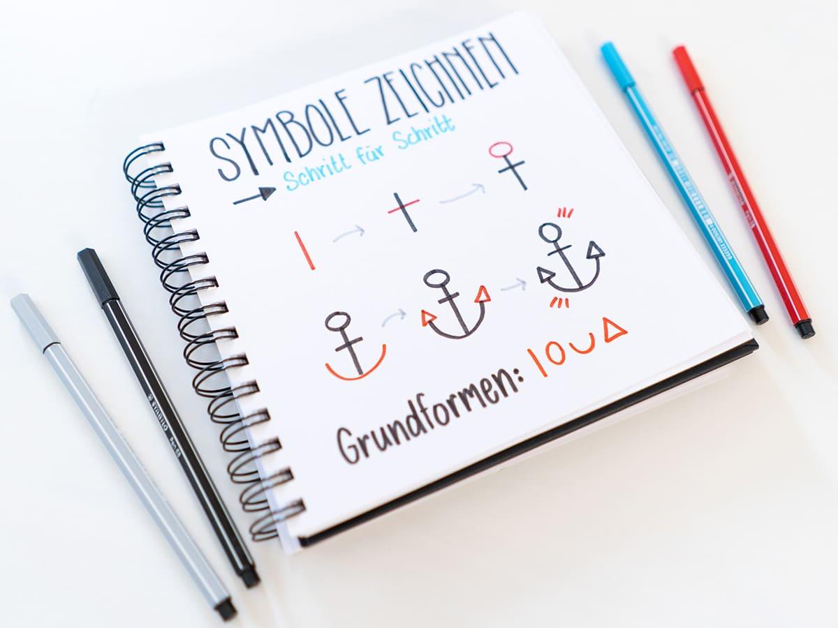 Symbole zeichnen