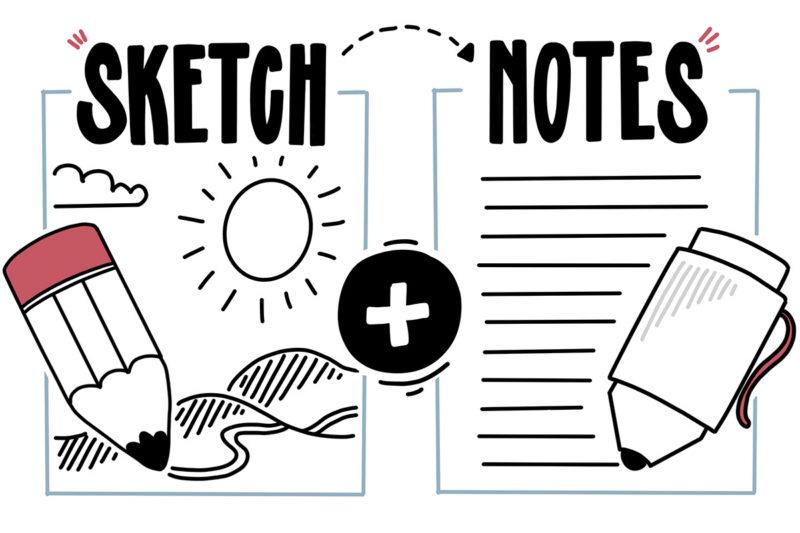 Aus Sketch und Notes wird Sketchnotes!