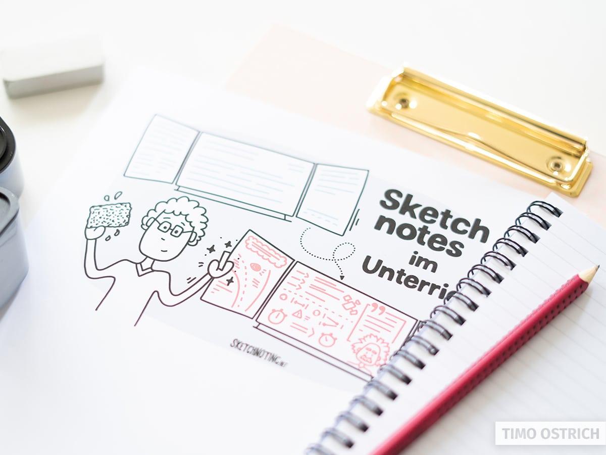 Sketchnotes in der Schule nutzen
