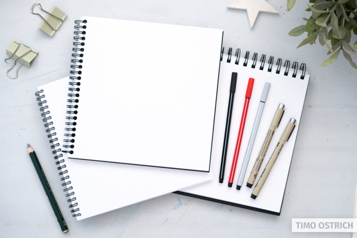 Material für Sketchnotes